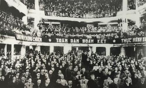 Kỳ họp đầu tiên của Quốc hội khóa I năm 1946