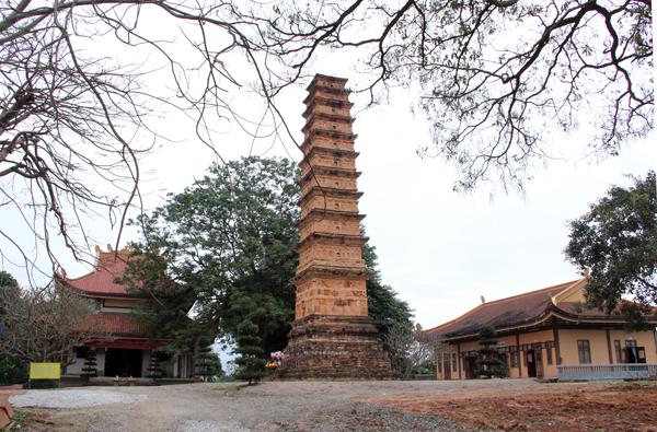 Tháp Bình Sơn: Với những băn khoăn về niên đại tạo lập