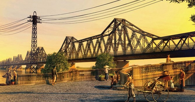 Cầu Long Biên - Di sản văn hoá trên đất Hà Thành