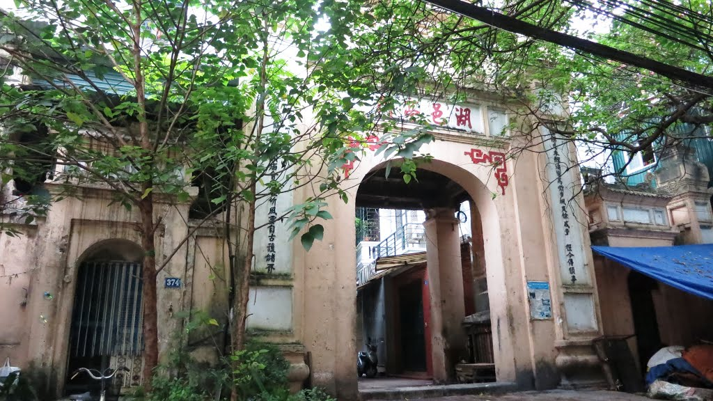 Cổng làng Hồ Khẩu, nét đẹp cổ xưa
