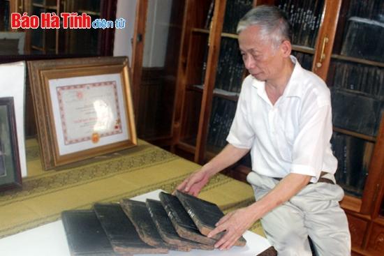 Họ Nguyễn Huy với Trường Lưu mộc bản