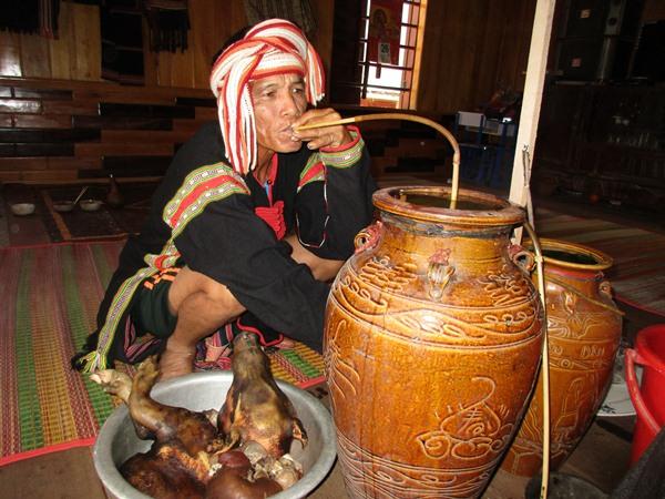 Ẩm thực truyền thống của người Gia Rai