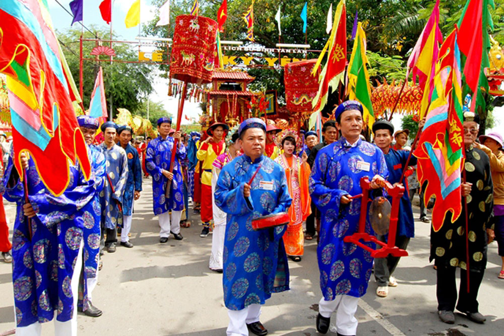 Nét văn hóa trong lễ hội làng
