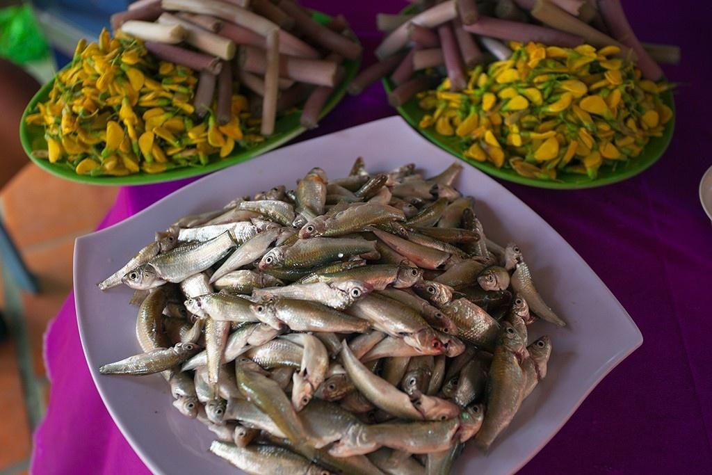 Ẩm thực mùa nước nổi gắn với phát triển du lịch ở An Giang