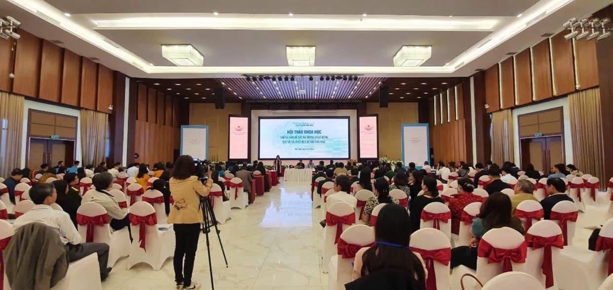 Tập huấn và Hội thảo khoa học ngành Di sản văn hóa năm 2020