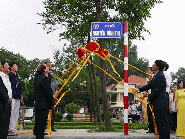 Hà Nội xây dựng ngân hàng tên đường phố và công trình công cộng đến năm 2030